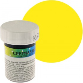 Colorante en gel amarillo limón x 1oz - Chefmaster