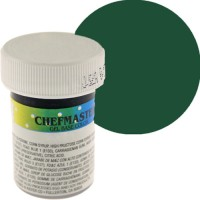 Colorante en gel verde bosque x 1oz - Chefmaster