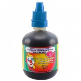 Colorante líquido azul 60ml - Colorisa