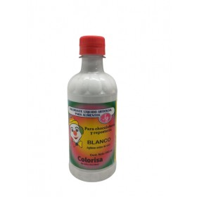 Colorante liquido blanco 390ml - Colorisa