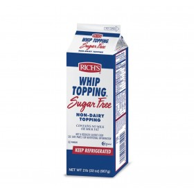 Crema Richs  whip topping sugar free x 1 Lt