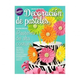 Revista decoración de pasteles - Wilton